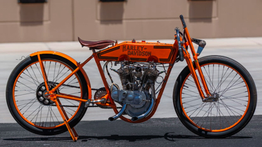 ハーレー・ダビッドソン 100年前 1915 レース