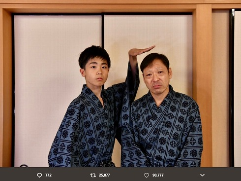 香川照之 Twitter カマキリ先生 SNS 開設 市川團子 息子 歌舞伎