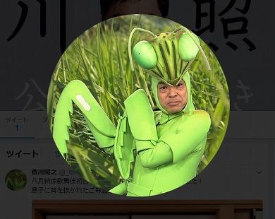 香川照之 Twitter カマキリ先生 SNS 香川照之の昆虫すごいぜ! 昆虫