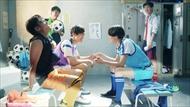 長友佑都 サッカー ドラゴンボール 金髪 スーパーサイヤ人 CM ブッチギリマッチ