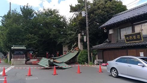 【事故】「らき☆すた」の聖地、鷲宮神社の鳥居が倒壊 神社「老朽化が疑われる」 ->画像>14枚