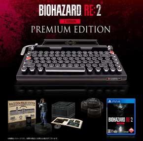 バイオハザード RE:2 タイプライター Bluetoothキーボード