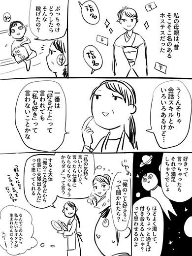 ホステス 漫画 オタク
