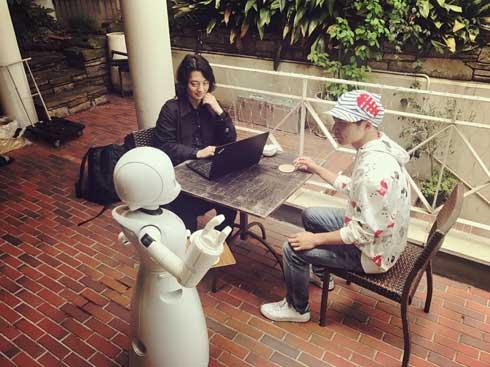ロボット テレワーク 実験 遠隔出社 募集 OriHime