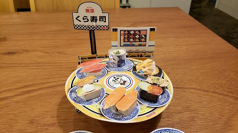 幼稚園の回転寿司ふろく