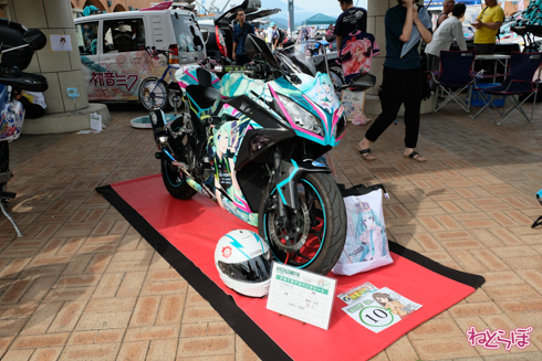 シスフェス 静岡 痛車 痛バイク コスプレ