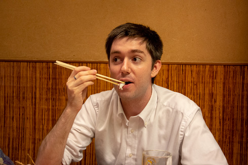 チョーヒカル ゲテモノデート ゲテモノ イカ 日本食
