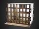 「座敷牢ドールハウス」が1/6スケールで登場 ほどよくくすんだ木製格子と畳のハーモニー