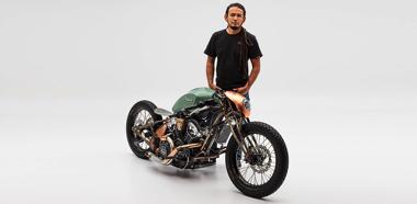 カスタム バイク NASA インディアン・モーターサイクル オートバイ