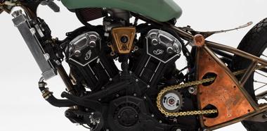 カウルの素材に銅を選ぶセンス……! NASAのエンジニアが作り上げたカスタムバイクが超スーパーイケメンすぎる (2/2)