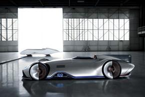 ベンツ EV レーシングカー