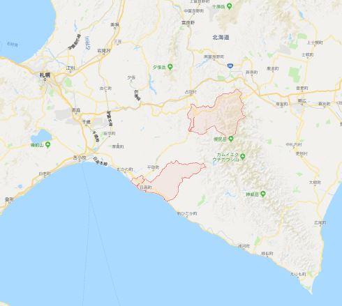 北海道胆振東部地震 船舶型基地局 au kddi 日高町