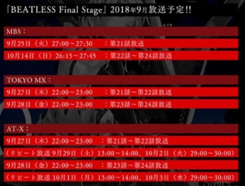 BEATLESS Final Stage 長谷敏司 intermission