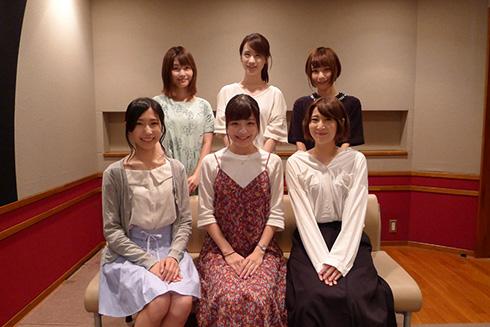 コトブキ飛行隊キャスト陣勢ぞろい(公式サイトから)