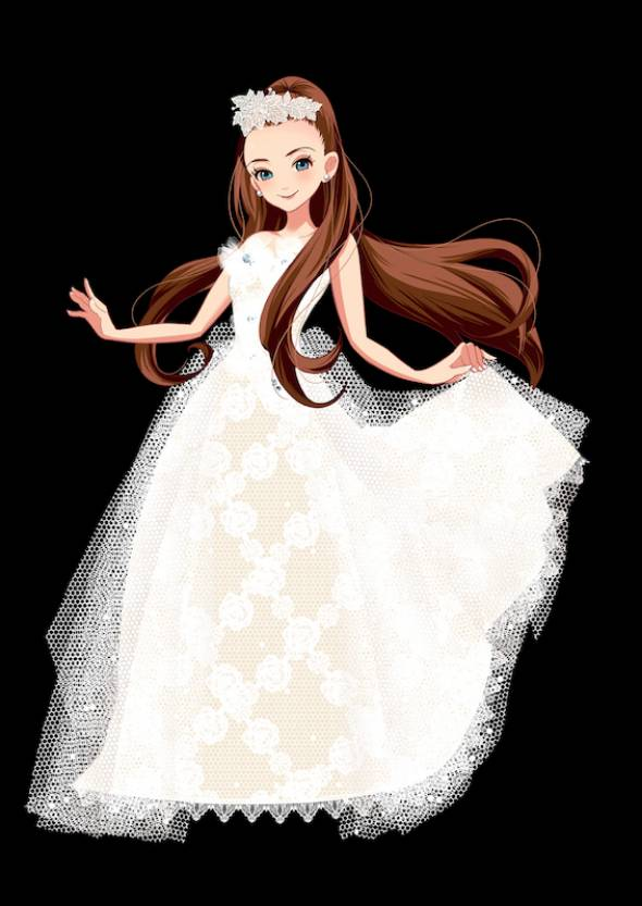 「Magical Christmas」の公認キャラクター「emina」