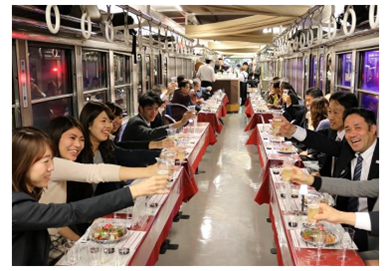 近江鉄道ワイン電車2018