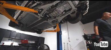 フェラーリ オイル交換 スーパーカー 488スパイダー