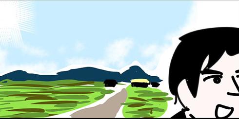 「うちは田舎」という言葉で想像する風景が違いすぎるTwitter漫画に「うちの地元」など共感コメント殺到