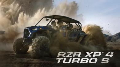 RZR オフロード 4人乗り RZR XP 4 Turbo S