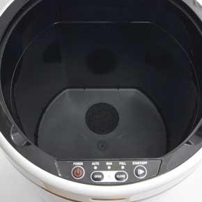 自動吸引 掃除機 ゴミ箱 クリーナーボックス サンコー