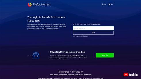 Mozilla、メールアドレスの流出を知らせるサービス「Firefox Monitor」を発表