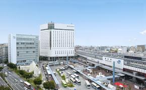 JR 東海 西日本 新幹線 スマートEX キャンペーン ホテルグランヴィア岡山 外観