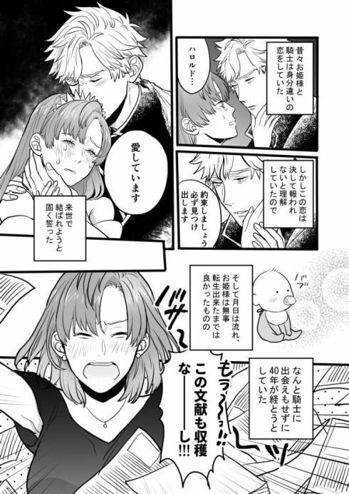 転生した姫と騎士01