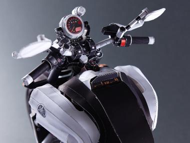 ヤマハ バイク 超精密 ペーパークラフト