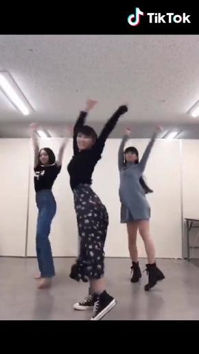 Perfume TikTok きゃりーぱみゅぱみゅ シリシリダンス あ〜ちゃん のっち かしゆか