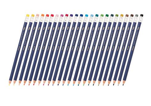こすると消える 色鉛筆 フリクションカラードペンシル パイロット