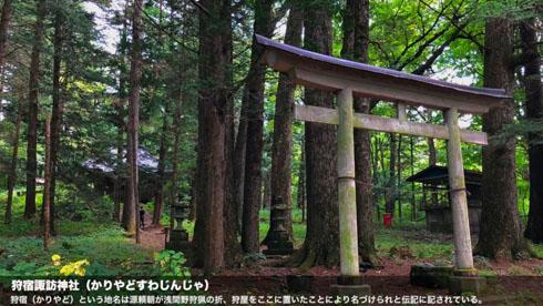狩宿諏訪神社
