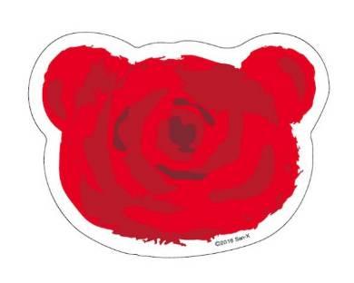 バラの花形付箋(イメージ)