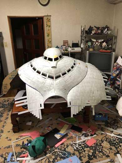ビグザム 作る コスプレ 文化祭 ガンダム MA モビルアーマー