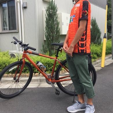 自転車 山口 ワールドカップ サッカー