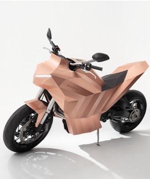 銅 バイク アート 海外