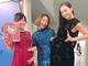 ダブル妊婦でサンドイッチ! 土屋アンナと豊崎由里絵アナ、笑顔の三船美佳を挟んでママの顔