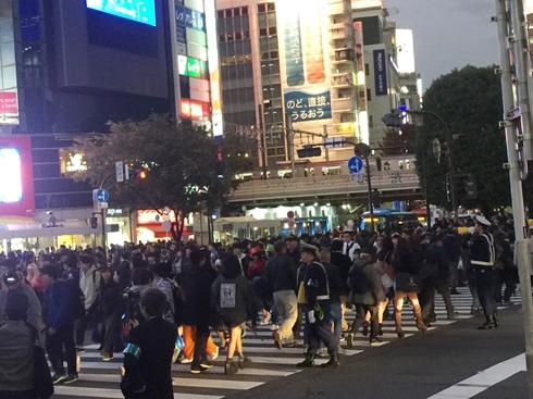 渋谷区 ハロウィーン