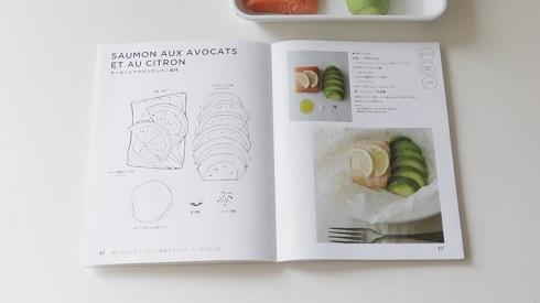 レシピ本見開き
