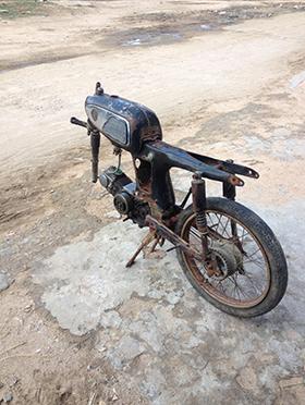 SS50 ベンリイ ホンダ バイク レストア
