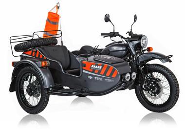 ウラル サイドカー ドローン バイク