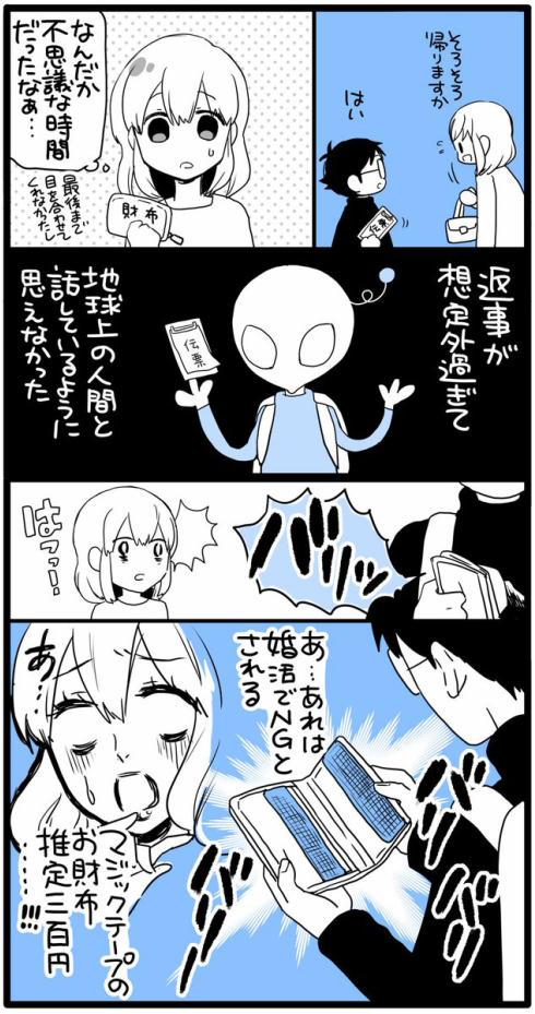 漫画家と異星人12
