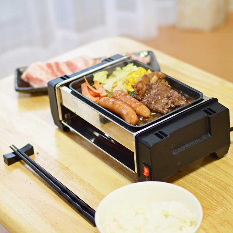 これは嬉しい! 小型ホットプレート、「卓上ひとり焼き肉プレート」発売