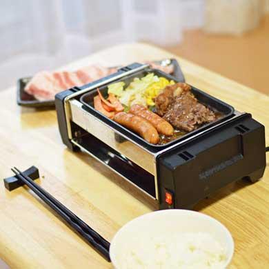 サンコー 卓上ひとり焼肉プレート ホットプレート
