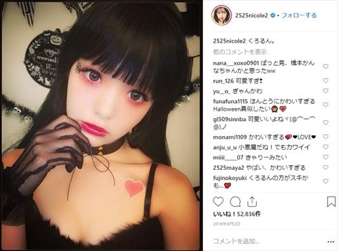 藤田ニコル 池田美優 にこるん みちょぱ ハロウィン 仮装 コスプレ