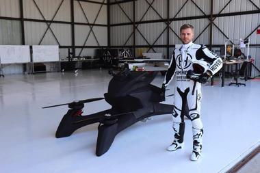 空飛ぶバイク ドバイ S3 Hoversurf