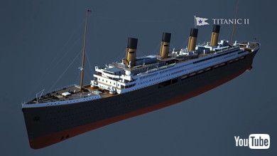 タイタニック2号 ブルースターライン 豪華客船 復活 建造