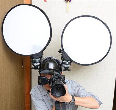 カメラ フラッシュ ストロボ