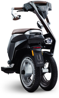 UJET 折りたたみ式 電動スクーター バイク