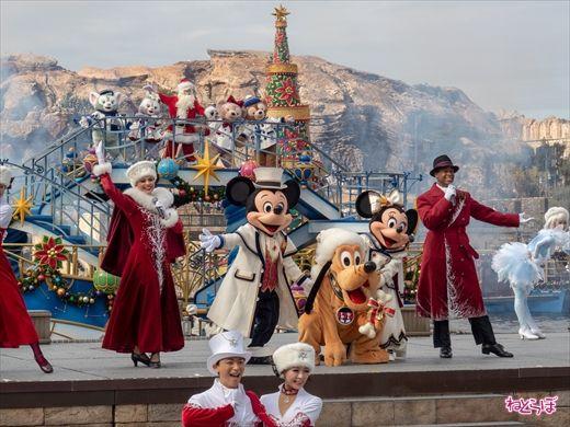 ディズニー クリスマス ショー