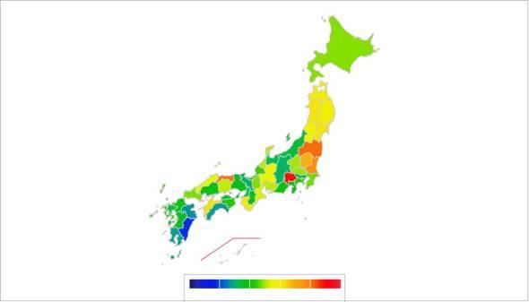 都道府県別マップ